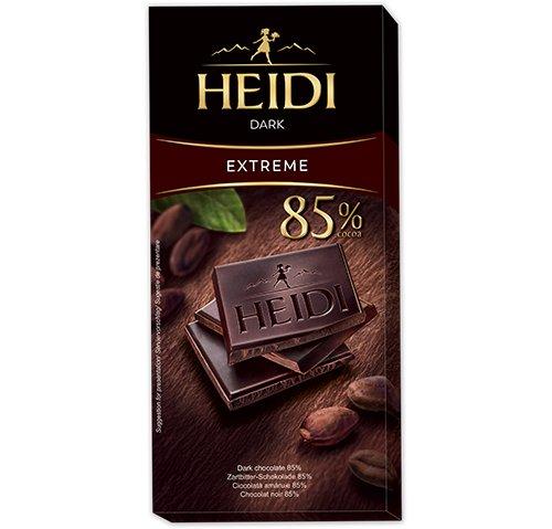 赫蒂85%黑巧克力80g
