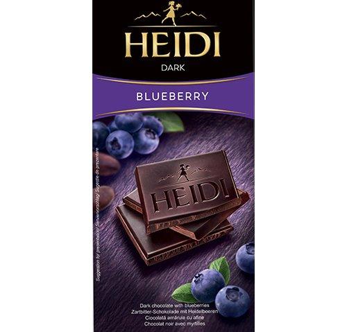 赫蒂藍莓黑巧克力80g