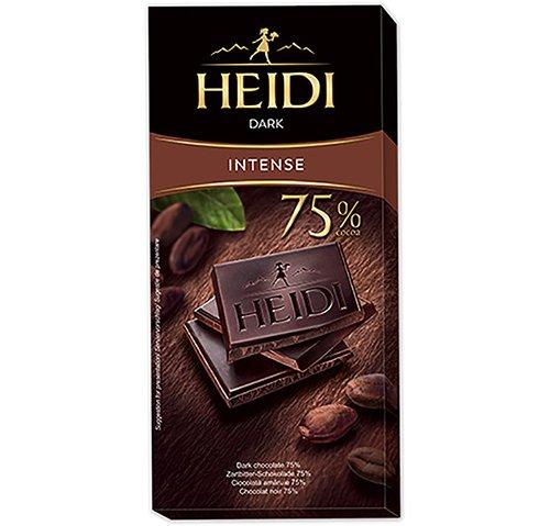 赫蒂75%黑巧克力80g