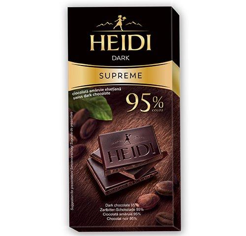 赫蒂95%黑巧克力50g