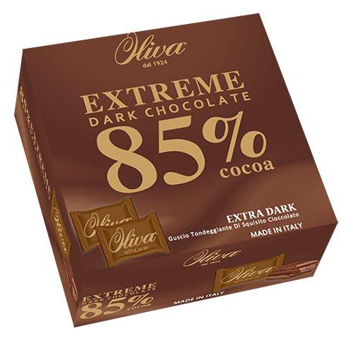 歐利華85%純黑巧克力薄片120g