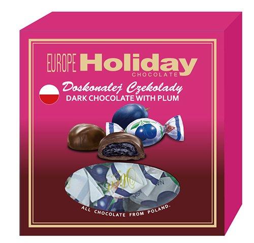 歐洲假期華麗蜜棗黑巧克力禮盒110g