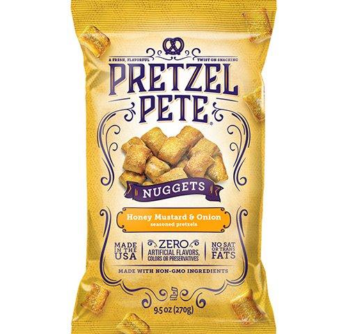 美國彼特脆餅乾-蜂蜜芥末洋蔥口味270g