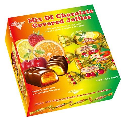 華麗綜合果醬軟糖巧克力150g