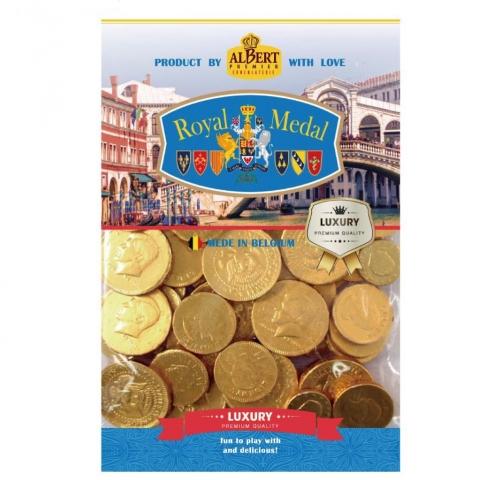比利時金幣巧克力300g