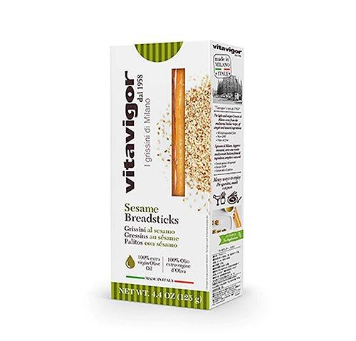 義大利Vitavigor活力麵包棒-芝麻口味125g