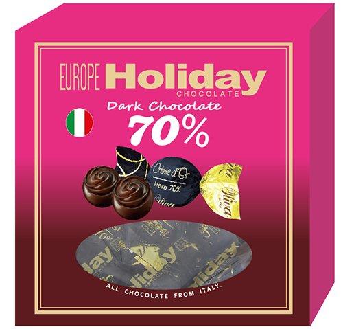 歐洲假期歐麗華70%黑巧克力禮盒112g