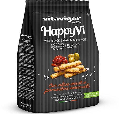義大利Vitavigor快樂點心-番茄橄欖150g