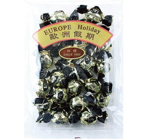 歐洲假期萊卡72%黑巧克力300g