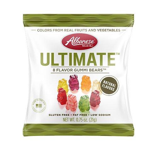 艾爾巴頂級8種口味小熊軟糖70g