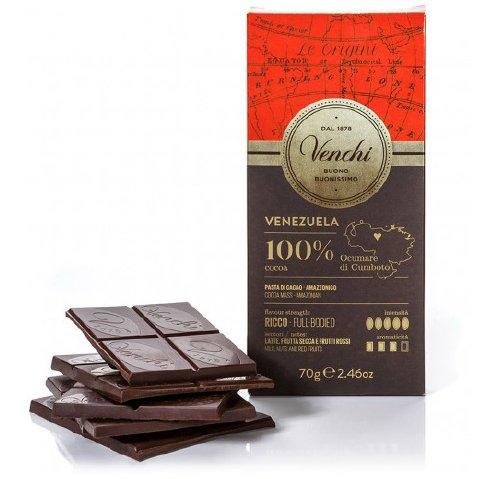 威琪委內瑞拉100% 黑巧克力70g