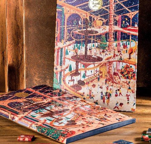 威琪夢幻聖誕倒數月曆巧克力179g