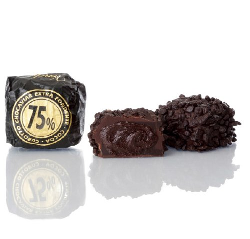 威琪 75% 魚子醬造型黑巧克力
