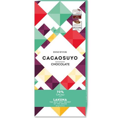 祕魯《CACAOSUYO》可可之源 LAKUNA 拉庫納70%黑巧克力60g