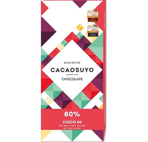 祕魯《CACAOSUYO》可可之源 CUZCO庫斯科80%黑巧克力60g