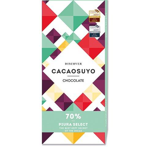 祕魯《CACAOSUYO》可可之源 PIURA SELECT 皮屋拉70%黑巧克力60g
