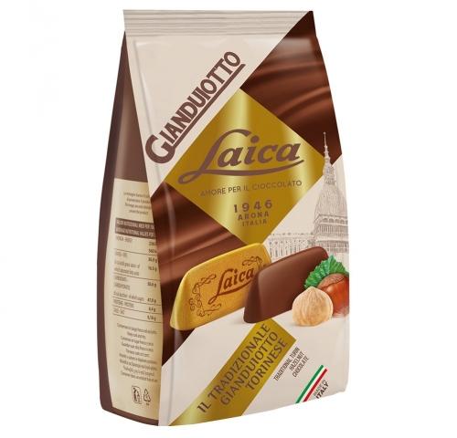 萊卡金磚造型榛果巧克力130g